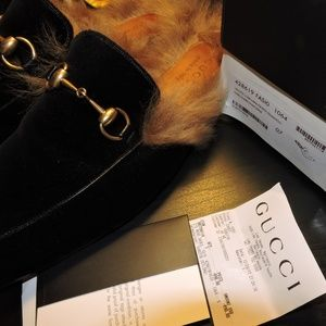 Gucci princetown loafers 7G